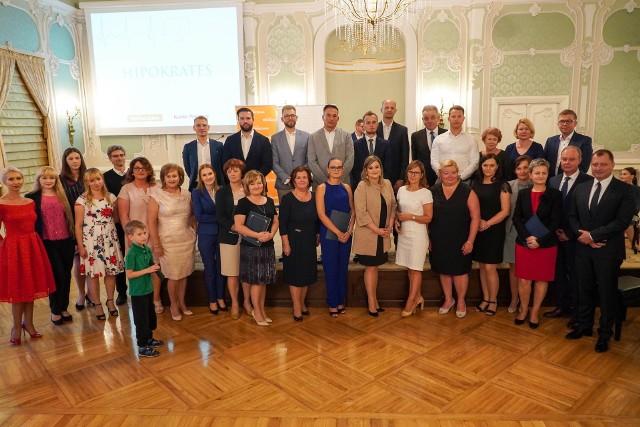 Wielka gala podlaskiej służby zdrowia 2019. Uroczyste zakończenie plebiscytu, wręczenie statuetek, dyplomów i nagród odbyło się 17 lipca w Pałacu Branickich.