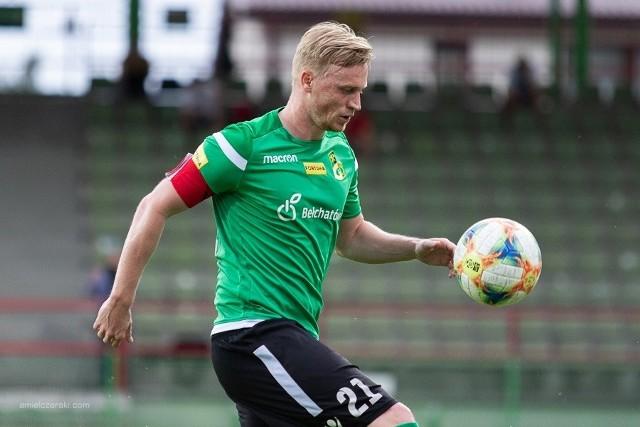 Mariusz Magiera, kapitan GKS Bełchatów