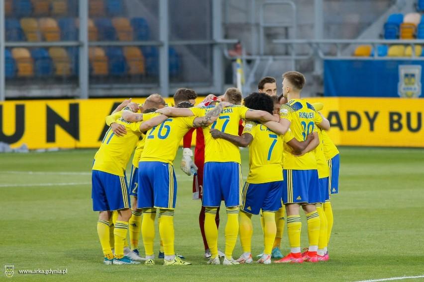 Ekstraklasa nie dla Arki Gdynia. Porażka w spotkaniu z Łódzkim Klubem Sportowym. 16.06.2021