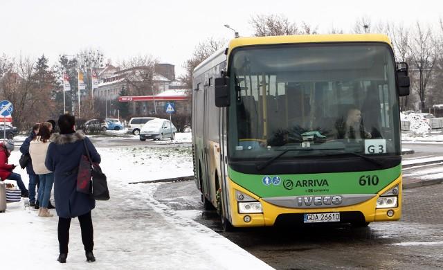 Przewoźnikiem na ternie Gminy Grudziądz od 1 stycznia jest Arriva