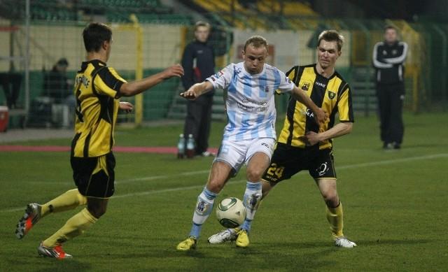 Stomil Olsztyn w końcówce sezonu potrzebuje zwycięstw, by utrzymać się w 1. lidze