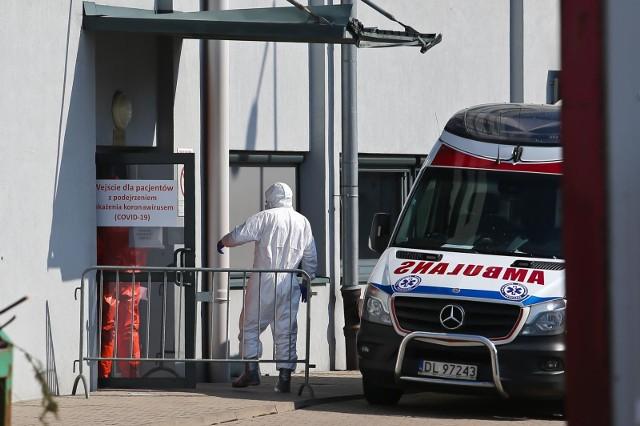 Pacjent opuścił szpital w przeddzień stwierdzenia na oddziale przypadku koronawirusa