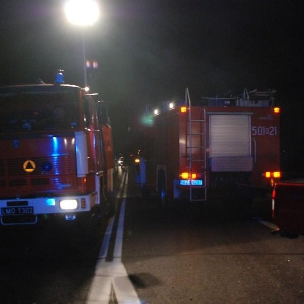 Strażacy musieli użyć sprzętu hydraulicznego