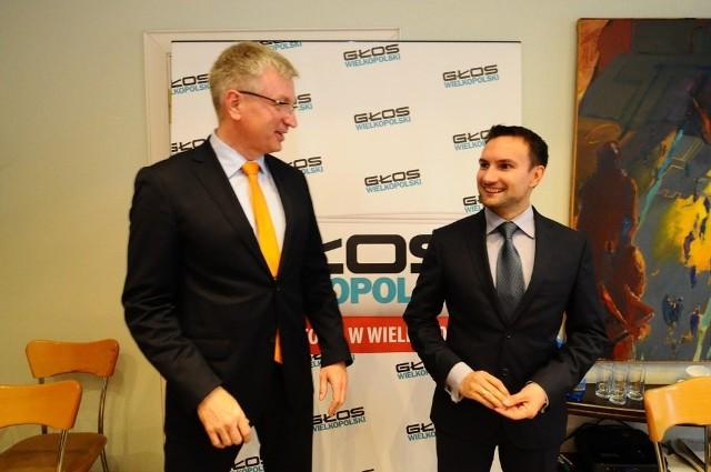 """Wybory samorządowe 2014: Debata """"Głosu"""" - Jaśkowiak i Lewandowski"""
