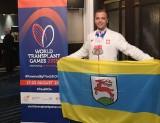 Lekkoatletyka. Dawid Kajkowski z Kozłowic udowadnia, że przeszczep nie przekreśla marzeń. Można zostać nawet mistrzem świata