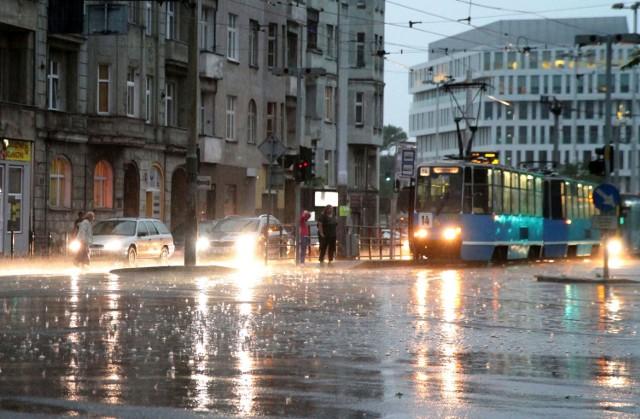 Burza we Wrocławiu