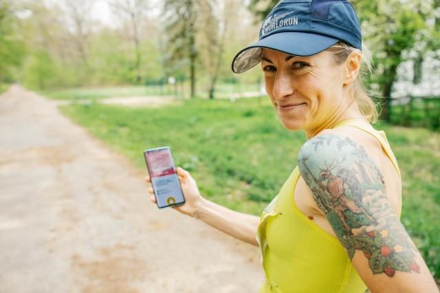 Dominika Stelmach jest jedną z najwybitniejszych specjalistek na świecie od biegu Wings for Life