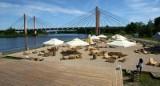 Dziś otwierają największą miejską plażę we Wrocławiu [ZDJĘCIA]