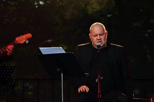 Marek Dyjak dał wspaniały koncert.