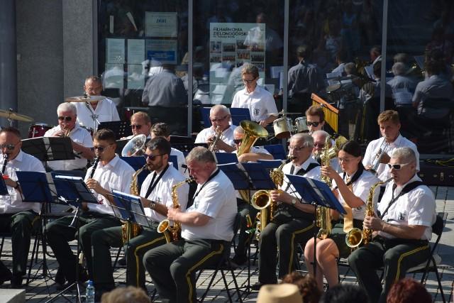 Koncert plenerowy Orkiestry Dętej Zastal - Zielona Góra - 11 lipca 2021