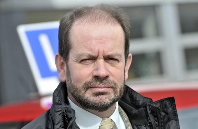 Marek Dworak przez wiele lat był dyrektorem Małopolskiego Ośrodka Ruchu Drogowego