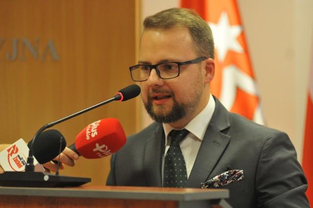 Michał Wasilewski był starostą ponad półtora roku.