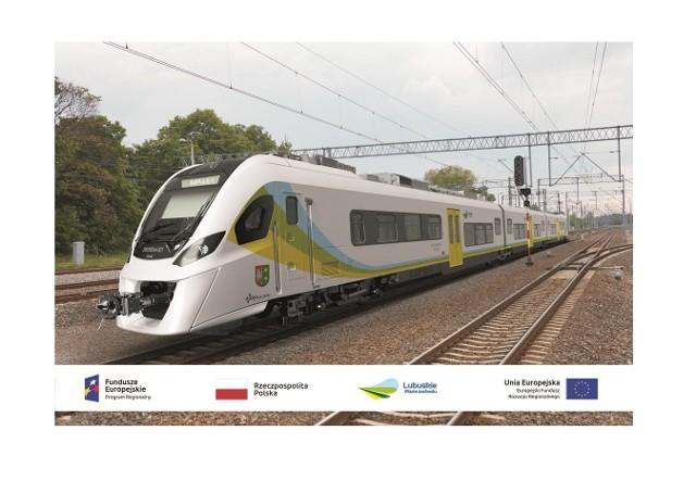 Zakupione przez Województwo Lubuskie dwa nowe elektryczne zespoły trakcyjne spełniają najnowsze europejskie wymagania techniczne