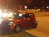 Wypadek na Aleksandrowskiej [zdjęcia]