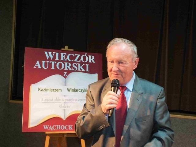 Kazimierz Winiarczyk opowiedział o trudach zbierania materiałów do książki.