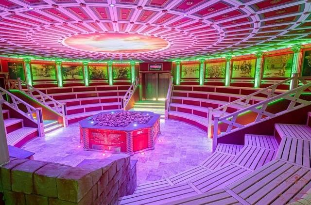 Tak prezentuje się sauna Colosseum w Termach Rzymskich Zobacz kolejne zdjęcia/plansze. Przesuwaj zdjęcia w prawo - naciśnij strzałkę lub przycisk NASTĘPNE