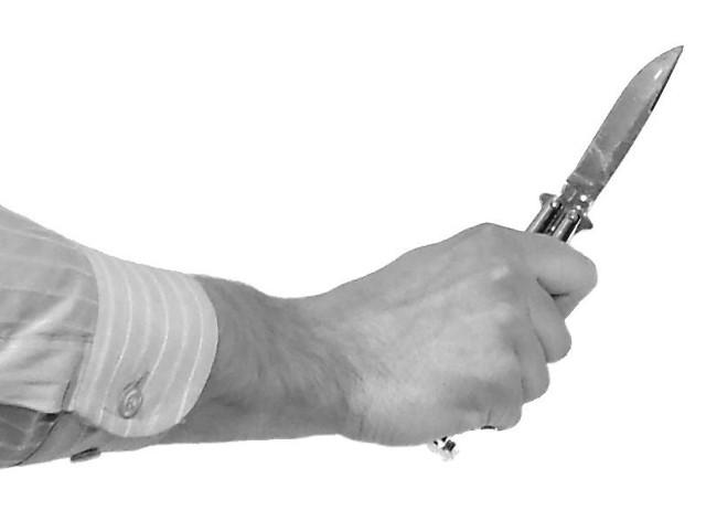 26-latek odpowiada za próbę napaści z użyciem noża