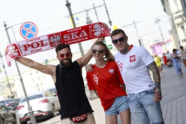 W St. Petersburgu nie brakuje polskich kibiców.