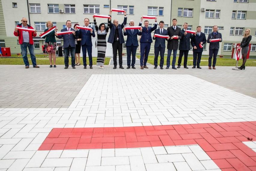 Otwarcie lądowiska przy Szpitalu Powiatowym w Łapach (26...
