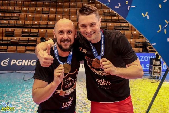 Mateusz Seroka (z lewej) i Michał Szyba odchodzą z zespołu Azotów Puławy