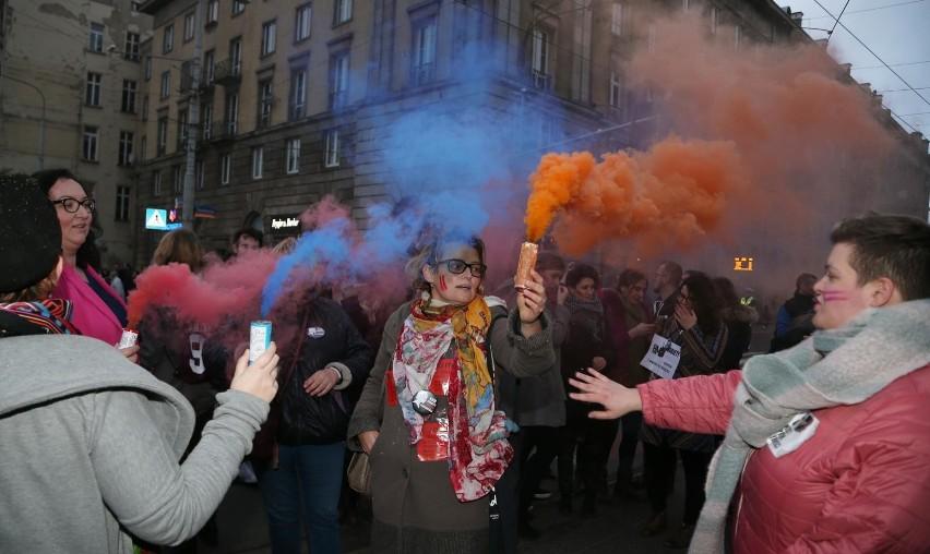 Strajk wrocławskiego lewactwa / Fot. Gazeta Wrocławska