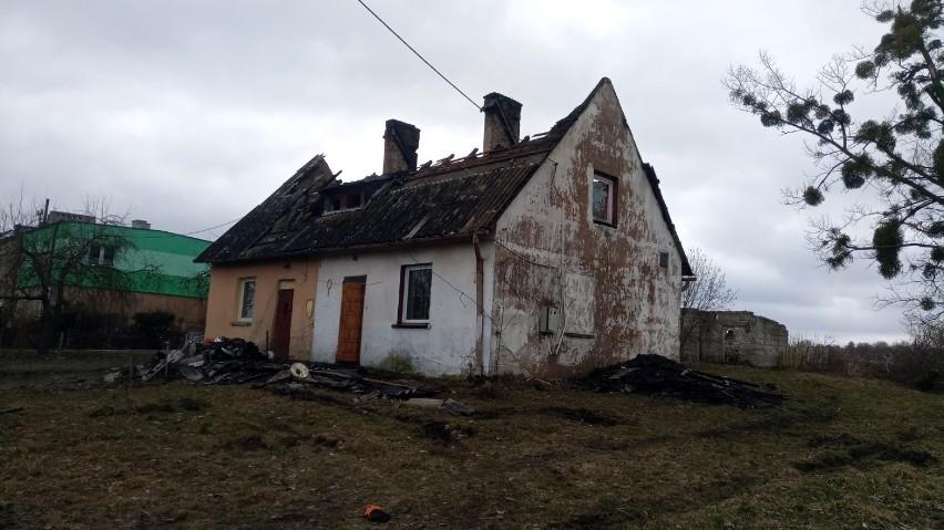 Pomoc dla pogorzelców z Bielska koło Morzeszczyna! W pożarze domu dwie rodziny straciły dorobek życia