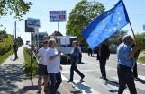Protest za budową trasy S6 na Pomorzu [WIDEO, ZDJĘCIA]