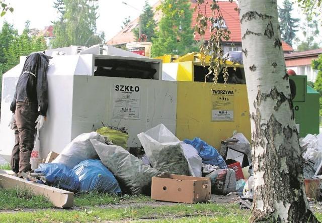 Do takich obrazków we Wrocławiu już - niestety - przywykliśmy. Odpowiada za nie Ekosystem