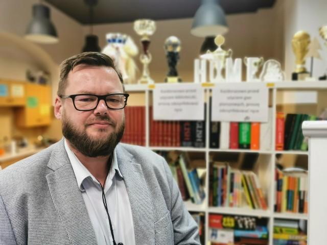 Paweł Zbieg, socjoterapeuta i wychowawca w Specjalistycznym Klubie Młodzieżowym Katolickiej Fundacji Dzieciom w Katowicach
