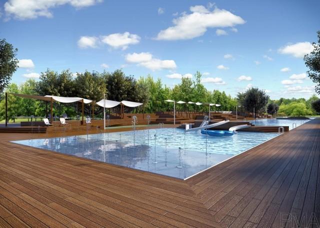 Nowy kompleks basenowy w Brzegu ma być atrakcją dla całych rodzin.