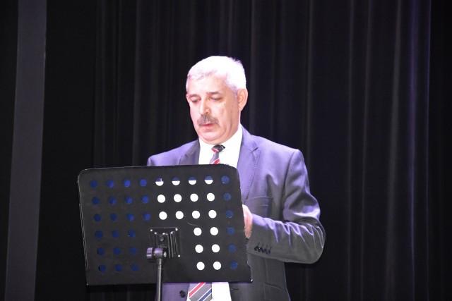 10 grudnia projekt został podsumowany. Na zdjęciu: dyrektor ZS nr 5 Jarosław Tomkowski
