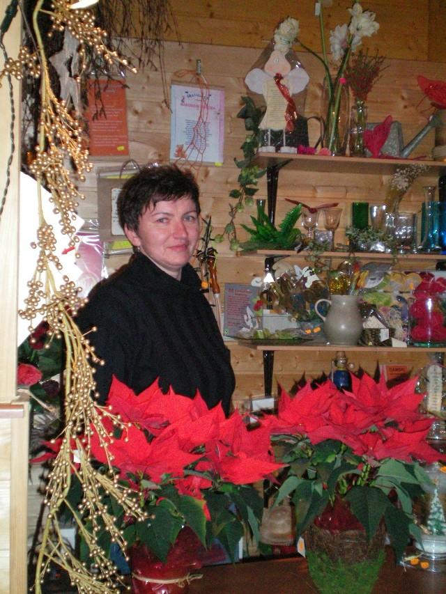 Stroiki pani Renata robiła na własne potrzeby, teraz dla klientów.