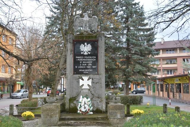 Z Leska pozbyto się pomnika ku pamięci 52 milicjantów, zabitych w ciągu dwóch powojennych lat, również przez UPA.