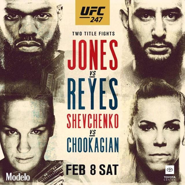 Gala UFC 247 odbędzie się z soboty na niedzielę (8/9 lutego) polskiego czasu. Pojedynkiem głównym będzie walka Jon Jones - Dominick Reyes. [UFC - na żywo, transmisja online i w TV]