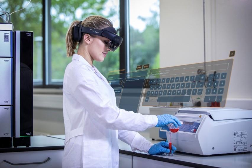 Mieszana Rzeczywistość - technologia rodem z Białegostoku - odciąży laboratoria diagnostyczne (zdjęcia)