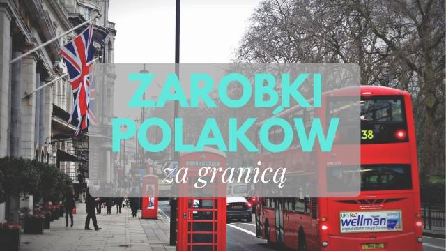 Ile wyniosły średnie zarobki Polaków za granicą? W którym kraju Polacy zarobili najwięcej? Prezentujemy dane opublikowane w raporcie euro-tax.pl dotyczącym zarobków Polaków za granicą w 2017 roku.Pełna treść raportu dostępna jest TUTAJSPRAWDŹ KONIECZNIE, CZY NADAJESZ SIĘ DO PRACY ZA GRANICĄ >>>TUTAJ