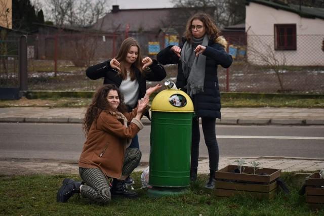 Ola, Natalka i Ewa zorganizowały kilka spotkań, prelekcji i warsztatów ekologicznych