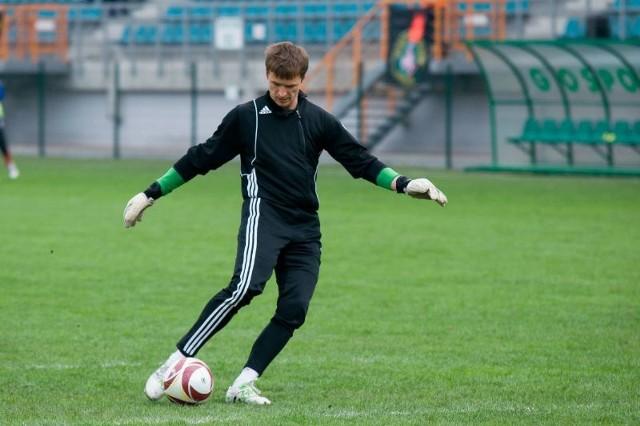 Łukasz Ćwiczak może spokojnie myśleć o grze w Wisłoce Dębica. Nie będzie już na siłę zatrzymywany w Tarnobrzegu.