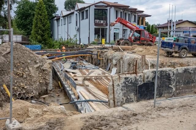 Trwają prace na budowie linii tramwajowej z Krowodrzy Górki do Górki Narodowej.