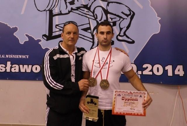 Łukasz Czajkowski został podwójnym mistrzem Polski.