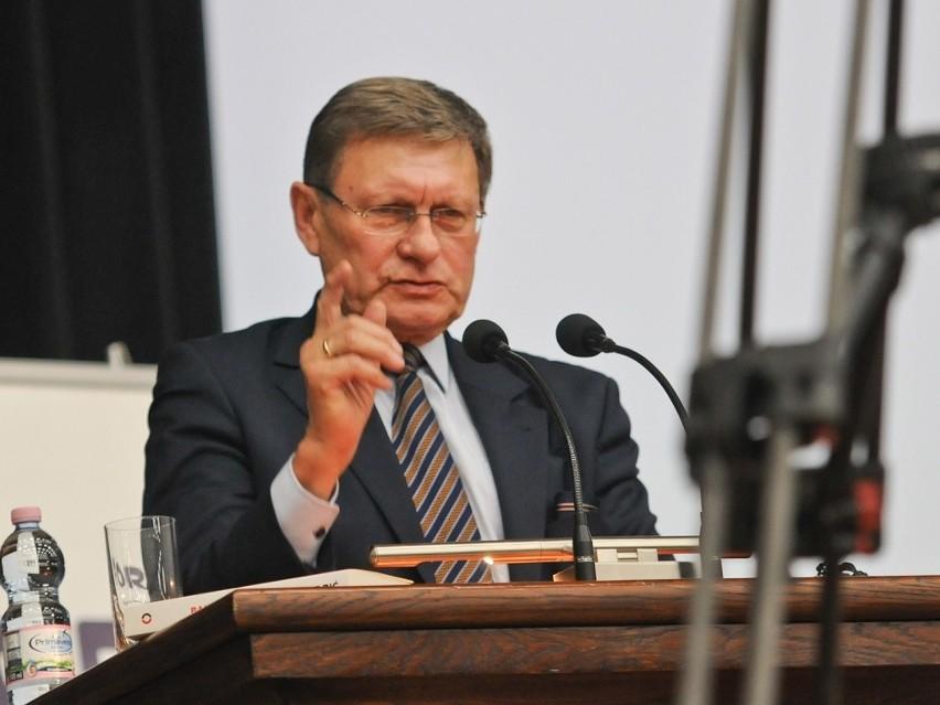 Leszek Balcerowicz na UMK w Toruniu