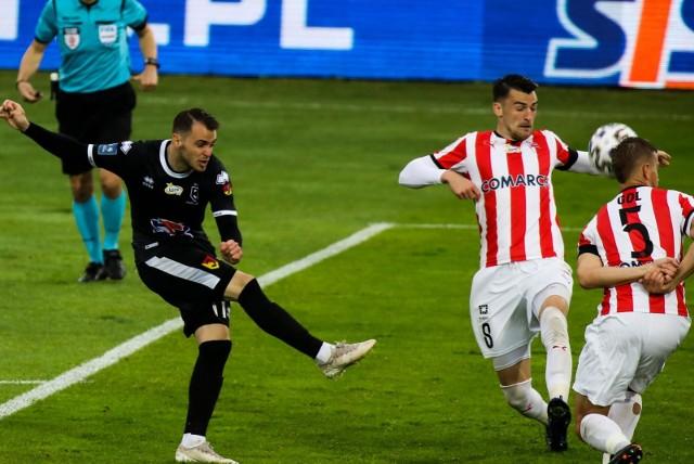 Jesus Imaz strzelił efektownego gola w meczu z Cracovią