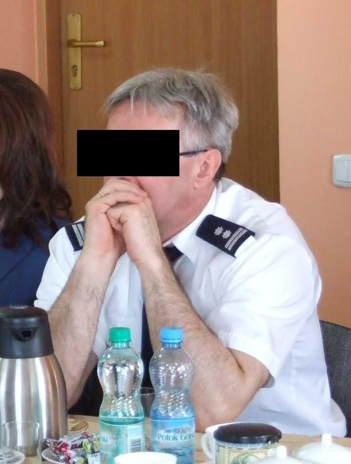 Henryk K. nie jest już zastępcą komendanta w Pajęcznie
