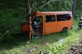 Wypadek na krajowej szóstce. Pięciu poszkodowanych. Jedna z osób przetransportowana śmigłowcem LPR