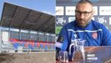 Marek Papszun o stadionie Rakowa Częstochowa: W tym domu może nie ma łóżek, ale są materace. To ciągle plac budowy