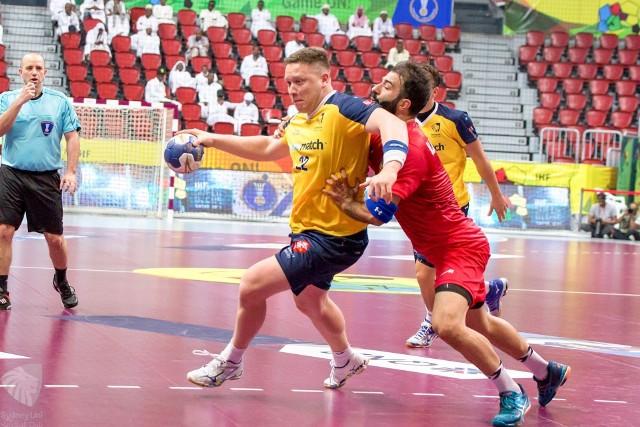 Tomasz Szklarski w żółtej koszulce