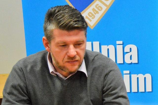 Witold Magiera, trener Unii Oświęcim