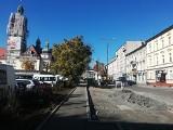 Rozpoczęła się budowa miejsc parkingowych na Placu Piastowskim