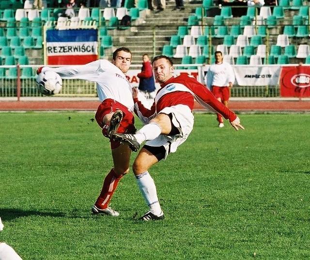 Wisła II Kraków - Proszowianka, stadion Wawelu Kraków, 11 października 2003 roku