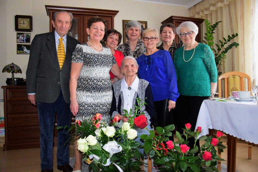 Pani Helena Zaranek z Kruszwicy skończyła dziś 106 lat. Na...